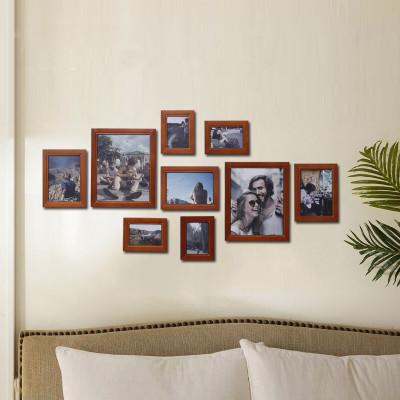 实木挂墙相框 创意画框组合 欧式简约 照片墙相框墙客厅 婚纱照相框图片